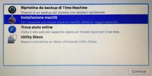 Installazione OSx